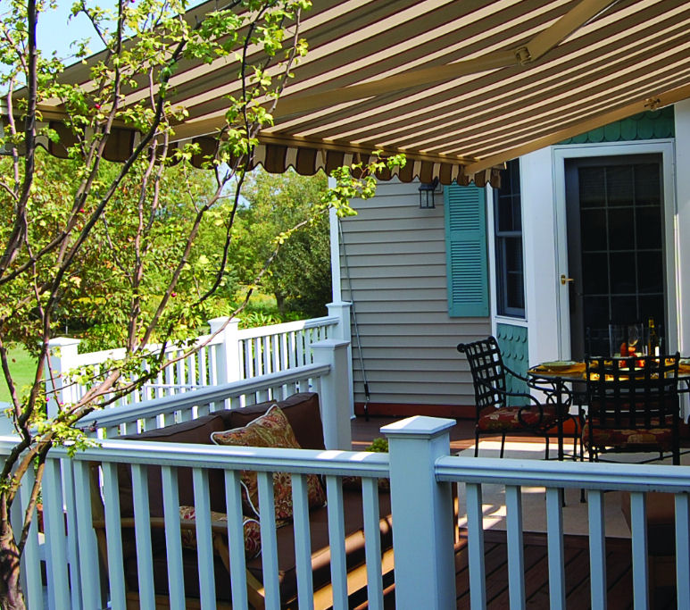 Retractable Awnings Dallas | Roll up Patio Awnings Fort ...