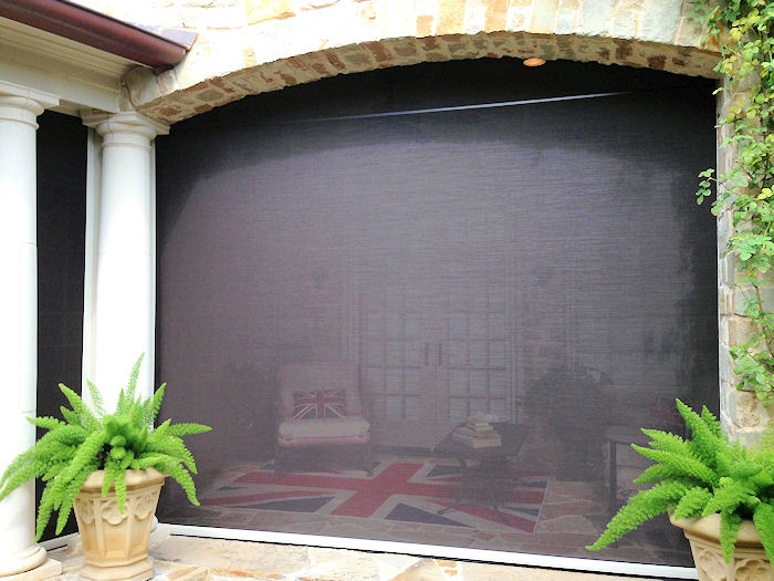 Screen in Patio