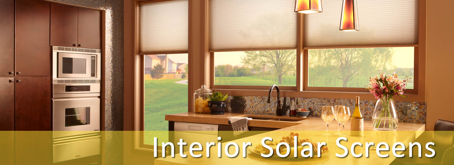 Interior Retractable Solar Screens Dallas Interior Solar Roll Up Screens Fort Worth Interior