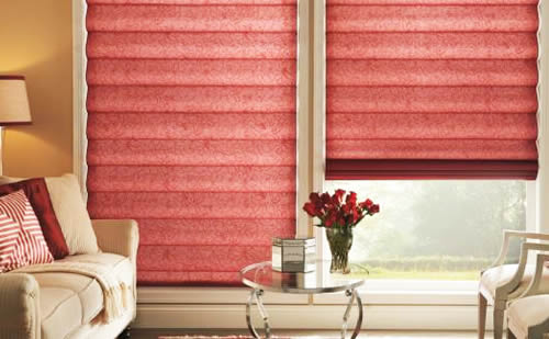 Retractable Roller Shades Fort Worth | Honeycomb and Pleated Shading ...